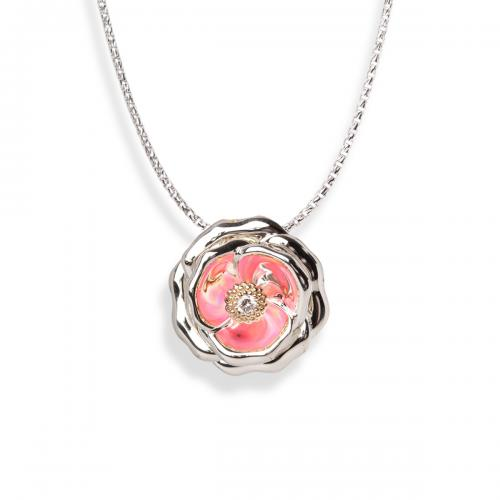 galatea rose pendant